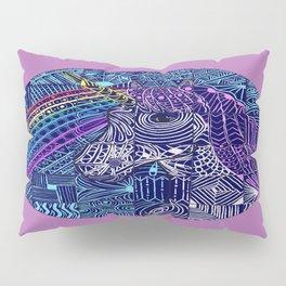 Rainbow and Unicorn   Patchwork Pillow Sham