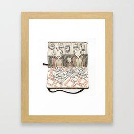 The Last Supper (Timekeepers) Framed Art Print
