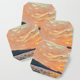 Tom Thomson - Smoke Lake - Canada, Canadian Oil Painting - Group of Seven Coaster