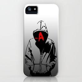 -A iPhone Case