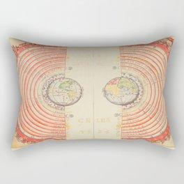 A Geocentric Universe Rectangular Pillow