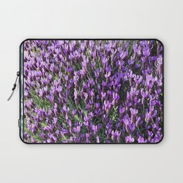 SPANISH LAVENDER AND ONE BEE Laptop Sleeve
