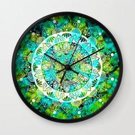 Cosmic Mandala Wall Clock