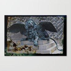 StMarkLion Canvas Print