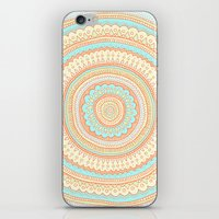carousel iPhone & iPod Skins featuring Carousel by Anita Ivancenko