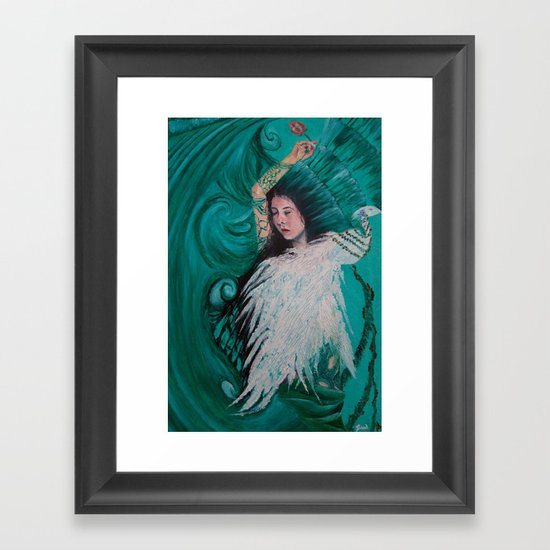 Harmony with Nature Framed Art Print