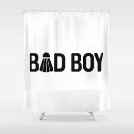 Bad Boy Shower Curtain