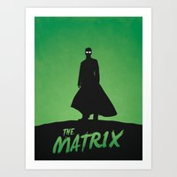 matrix Art Prints featuring Matrix by Nick Kemp