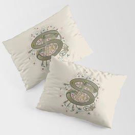 Celtic Initial S Pillow Sham