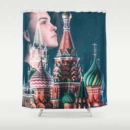Dream of Kremlin Shower Curtain