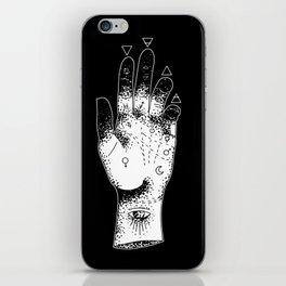 Sleepwalk Palmistry iPhone Skin