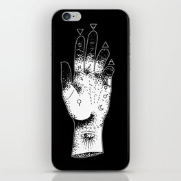 Sleepwalk Palmistry iPhone Skin