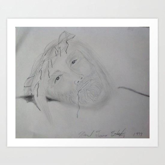 J dream 2 Art Print