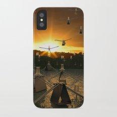 Pushpin Invasion iPhone X Slim Case