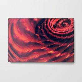 Fleeting Waves Metal Print