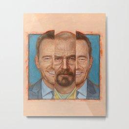 Walter White /Heisenberg - Breaking Bad Metal Print