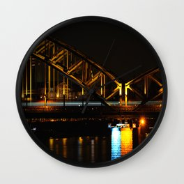 Goldbridge Wall Clock