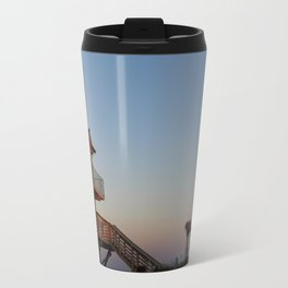 Guard Tower At Dusk Travel Mug