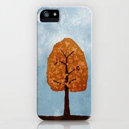 Autumn Grunge iPhone Case