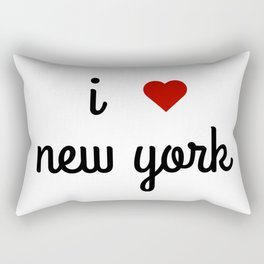I LOVE NEW YORK Rectangular Pillow