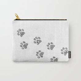 Cat tracks Carry-All Pouch