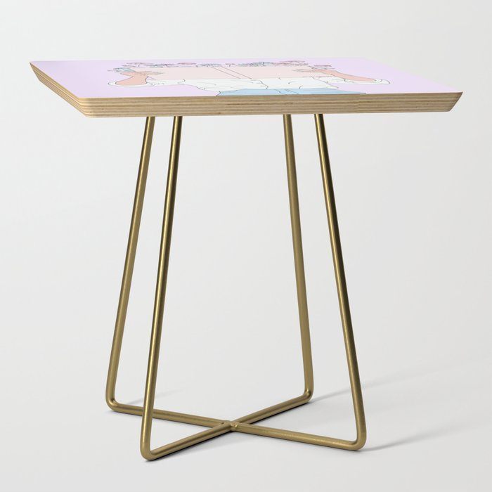 Read All About It Side Table