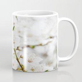 White blooming Coffee Mug