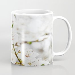 White blooming Coffee Mug