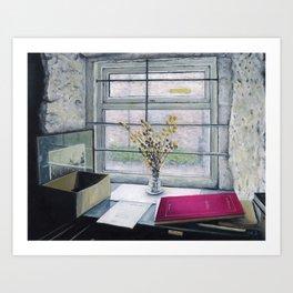 Bookshop Window, Edinburgh, Scotland Art Print
