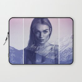 A song to the mountains Laptop Sleeve