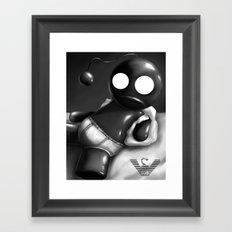Underwear Love: Bob Underwear Framed Art Print