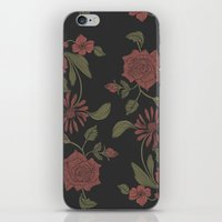 flora iPhone & iPod Skins featuring Flora by Norman Duenas