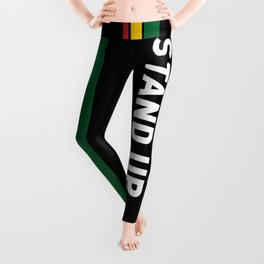 Get Up Stand Up / Rasta Vibrations Leggings