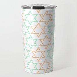 Star Of David Pattern  #society6 #decor #buyart #artprint Travel Mug