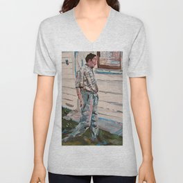 uncle gary Unisex V-Neck