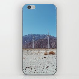 Palm Springs Windmills II iPhone Skin