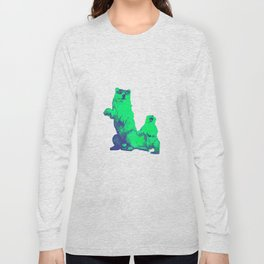 Ours Republique green Long Sleeve T-shirt