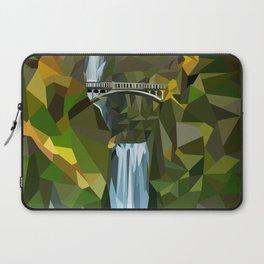 Geometric Multnomah Falls  Laptop Sleeve