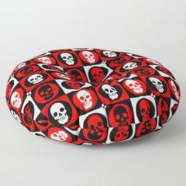 Skull Pattern | Pop Art Floor Pillow