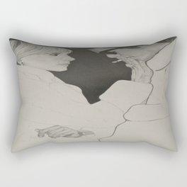 Sienna Miller & Hayden Christensen - Factory Girl Rectangular Pillow