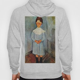 "Amedeo Modigliani ""Little girl in blue"" Hoody"