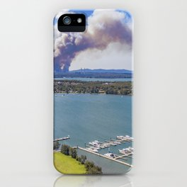 Morisset facing Awaba Fire NSW iPhone Case