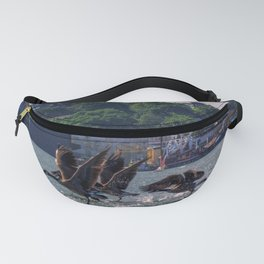 Geese in Portland, Maine Fanny Pack