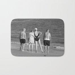 Friends At The Beach Bath Mat