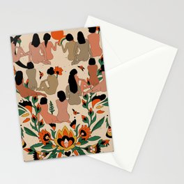 Got Your Back II Stationery Cards