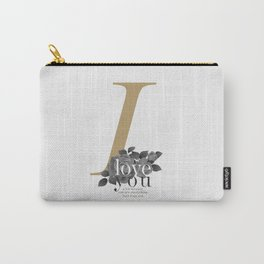 You Complete Me - LOVE #society6 #love #buyart Carry-All Pouch