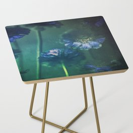 Scabious Blue Side Table