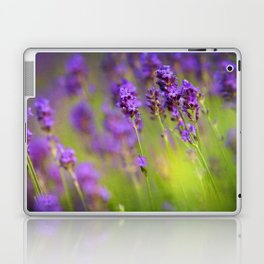 Textured background of lavender flowers Laptop & iPad Skin