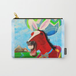A Horserabbit for Archer Carry-All Pouch