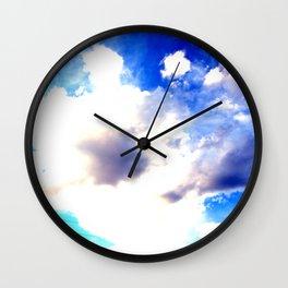 Blue Skies Will Never Fade Wall Clock